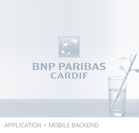 app BNP Paribas gris