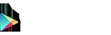 Bouton Google Play blanc