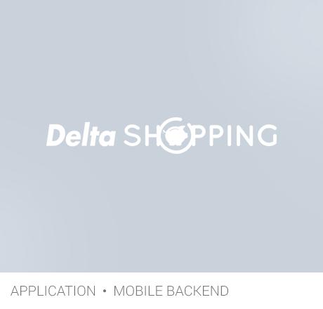 app DeltaShopping gris