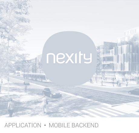 app Nexity blanc